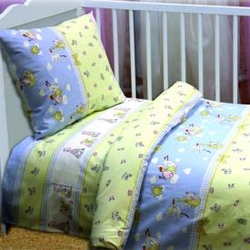Постільна білизна в дитяче ліжечко
