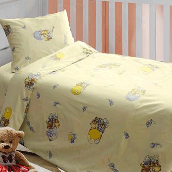 Постіль в дитяче ліжечко «Дирижабль»
