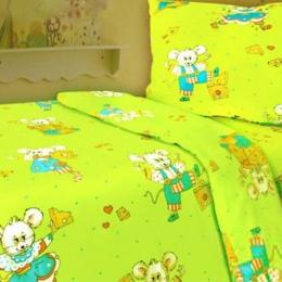 Постіль в дитяче ліжечко «Мишенята»