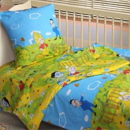Постіль в дитяче ліжечко «Незнайко»