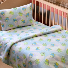 Постіль в дитяче ліжечко «Доброї ночі»